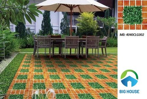 """3 mẫu gạch cỏ Đồng Tâm cho sân vườn khiến """"vạn người mê"""""""