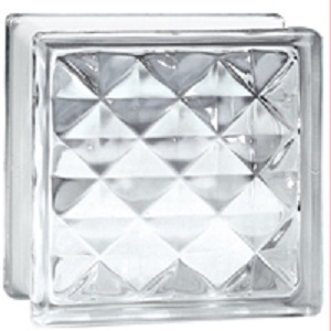 Gạch kính lấy sáng Đồng Tâm 19×19 KIM CƯƠNG –  9521