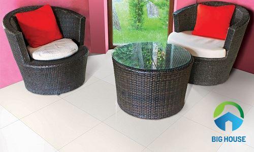 Gạch lát nền Đồng Tâm 60x60 6060SNOW001-FP 1