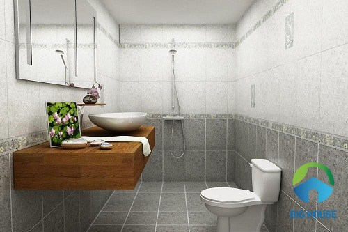 Hình ảnh Mẫu gạch ốp lát nhà vệ sinh, gạch Toilet Đẹp, Chống Trơn 2020