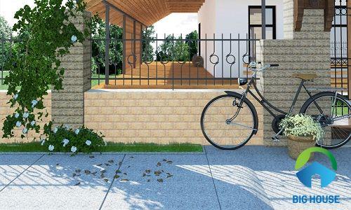 Báo giá gạch ốp tường ngoài trời Đồng Tâm: giả đá, gạch thẻ HOT nhất