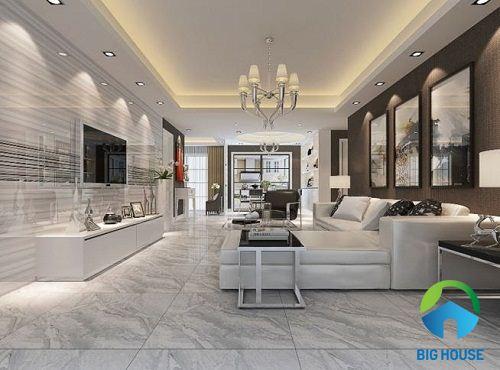 Tiết lộ 3 mẫu gạch ốp tường phòng khách Đồng Tâm đẹp, độc nhất