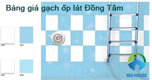 Bảng báo giá gạch ốp lát Đồng Tâm mẫu đẹp, chiết khấu cao nhất 2018