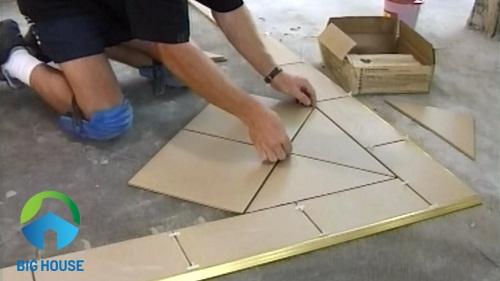 cách lát gạch nền nhà