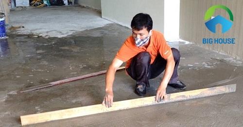 cách lát gạch nền nhà đẹp
