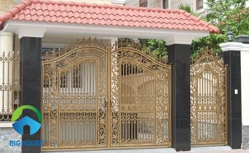 các mẫu gạch ốp cổng