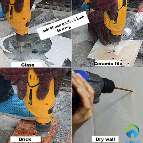 cách khoan gạch ốp tường 9