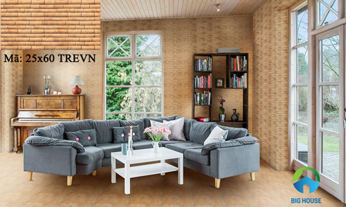 mẫu gạch ốp tường phòng khách đẹp 19