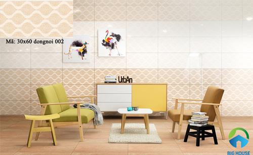 mẫu gạch ốp tường phòng khách đẹp 21