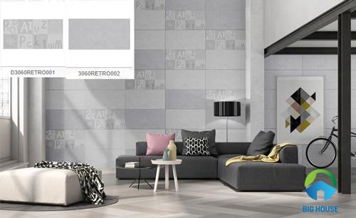 mẫu gạch ốp tường phòng khách đẹp 22