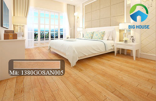 gạch lát nền màu gỗ đẹp