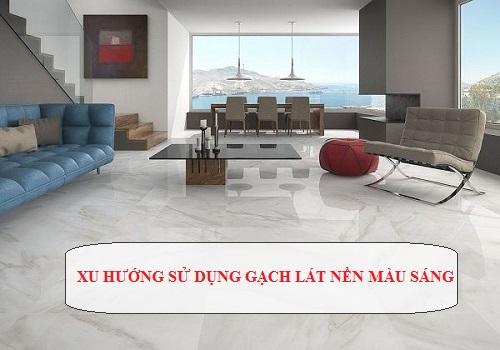 10++ Mẫu gạch lát nền màu trắng sáng – SÁNG BỪNG không gian nội thất