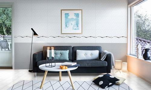 phối màu gạch ốp tường phòng khách 12