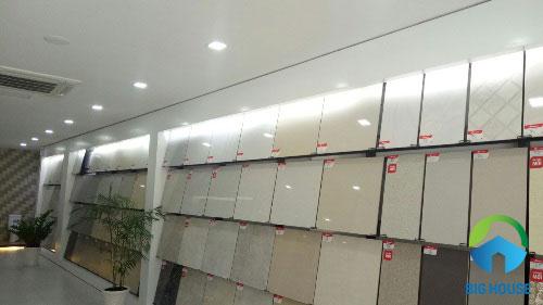 gạch ceramic đồng tâm 60x60