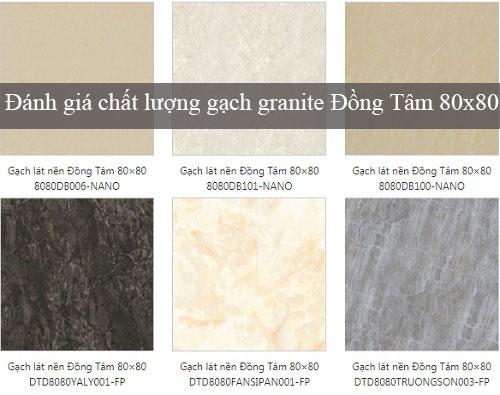 Chất lượng gạch granite Đồng Tâm 80×80- Đánh giá khách quan nhất