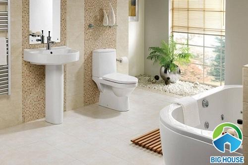 Loạt mẫu gạch lát nền nhà tắm chống trơn Đồng Tâm vừa đẹp vừa an toàn