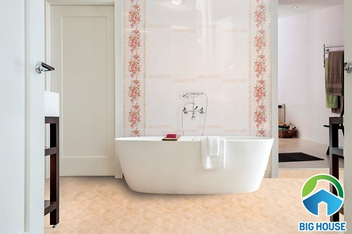 chọn gạch lát nền nhà tắm chống trơn