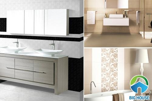 TOP mẫu gạch ốp nhà tắm Đồng Tâm ghi điểm tuyệt đối với người dùng