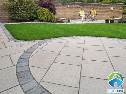 các loại gạch lát sân vườn 4