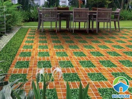 Gạch giả cỏ Đồng Tâm mã 4040CLG002