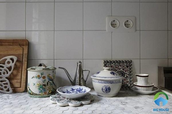 gạch ốp bàn bếp