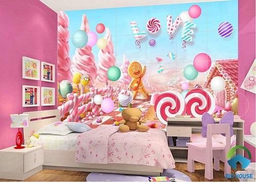 gạch ốp tường phòng ngủ 3D 10