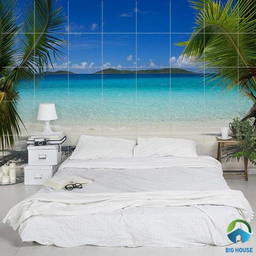 gạch ốp tường phòng ngủ 3D 12