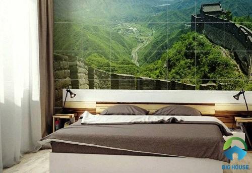 gạch ốp tường phòng ngủ 3D 15