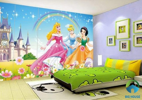 gạch ốp tường phòng ngủ 3D 7