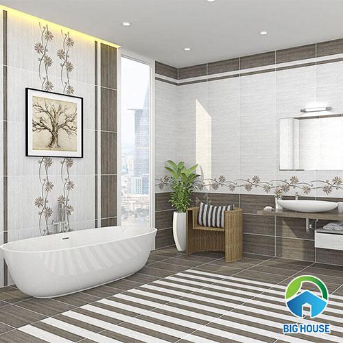 ốp tường gạch nhà vệ sinh 30x60