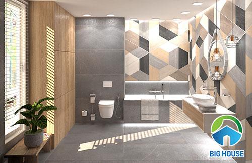 xu hướng ốp gạch nhà vệ sinh 2020