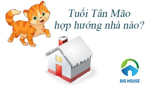 Hướng nhà cho tuổi Tân Mão