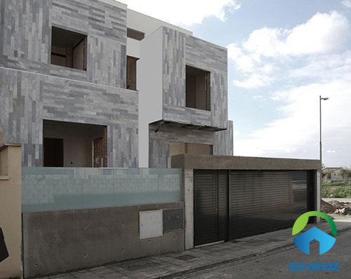 mẫu gạch ốp mặt tiền nhà 34