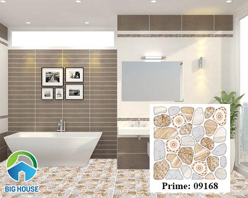 Gạch sỏi Prime 09168 lát nền nhà tắm