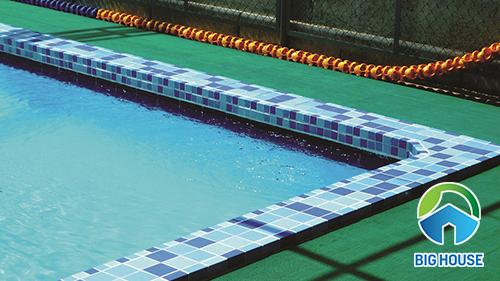 gạch lát bể bơi