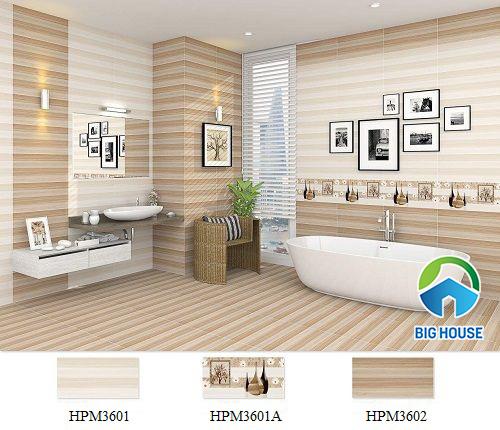 Gạch ốp nhà tắm theo bộ của ViglaceraHPM3601 - HPM3601A - HPM3602
