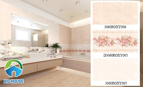 Bộ gạch ốp tường nhà tắm 3060ROXY006 -D3060ROXY005 - 3060ROXY005