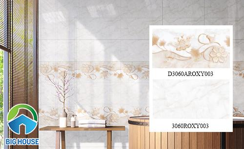 bộ gạch ốp tường nhà tắm Đồng Tâm