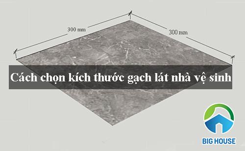 Chọn kích thước gạch ốp lát nhà vệ sinh CHUẨN nhất cho từng không gian