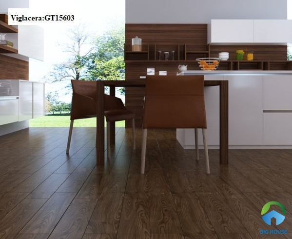 Mẫu gạch giả gỗ Viglacera GT15603