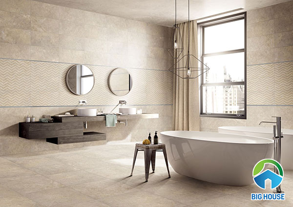 Cách chọn gạch lát nền nhà tắm kèm MẪU HOT nhất 2020 tại Big House