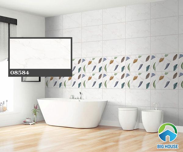 gạch ốp nhà tắm vân đá 9