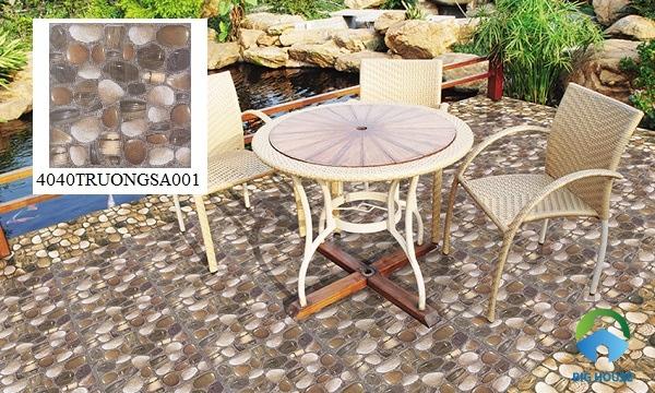 Gạch sỏi Đồng Tâm 4040TRUONGSA001