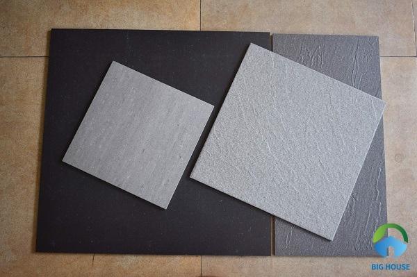 gạch granite đồng chất có độ cứng cao, chịu lực tốt, chống mài mòn và trầy xước