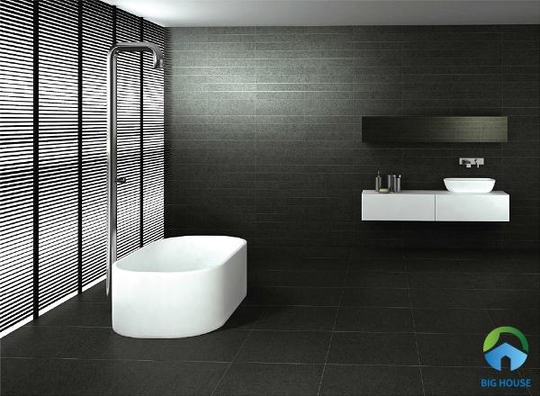Gạch granite màu đen: 10+ mẫu đẹp, báo giá và cách phối màu chuẩn đẹp