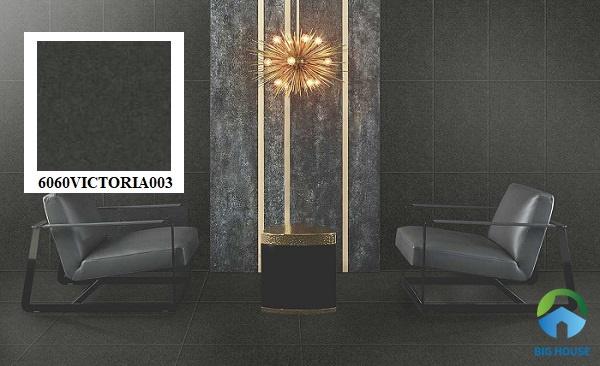Gạch granite màu đen Đồng Tâm 6060VICTORIA003