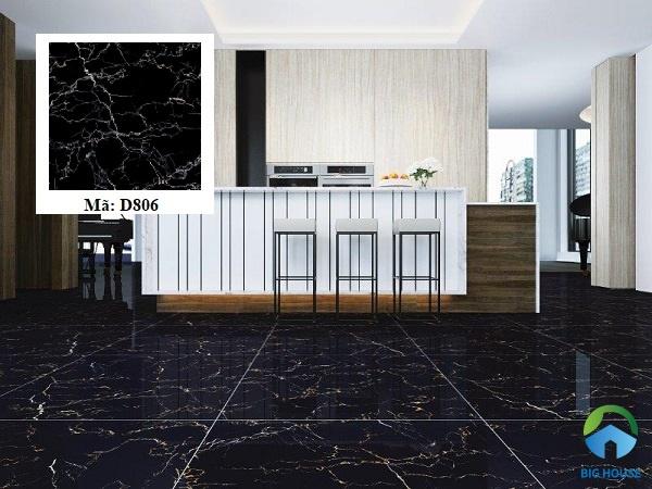 gạch látgranite màu đen D806 của Viglacera