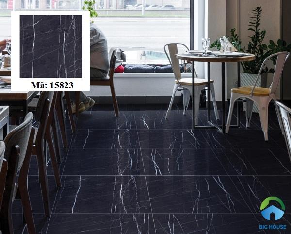 Mẫu gạch granite màu đen Prime 80X8015823