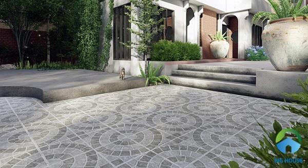 Gạch granite lát sân vườn, sân thượng bền đẹp – Kinh nghiệm chọn